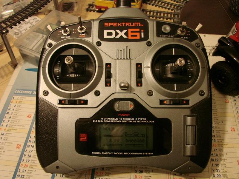 [Tuto] Radio Spectrum DX6i - Quelques astuces et reglages de base.  02