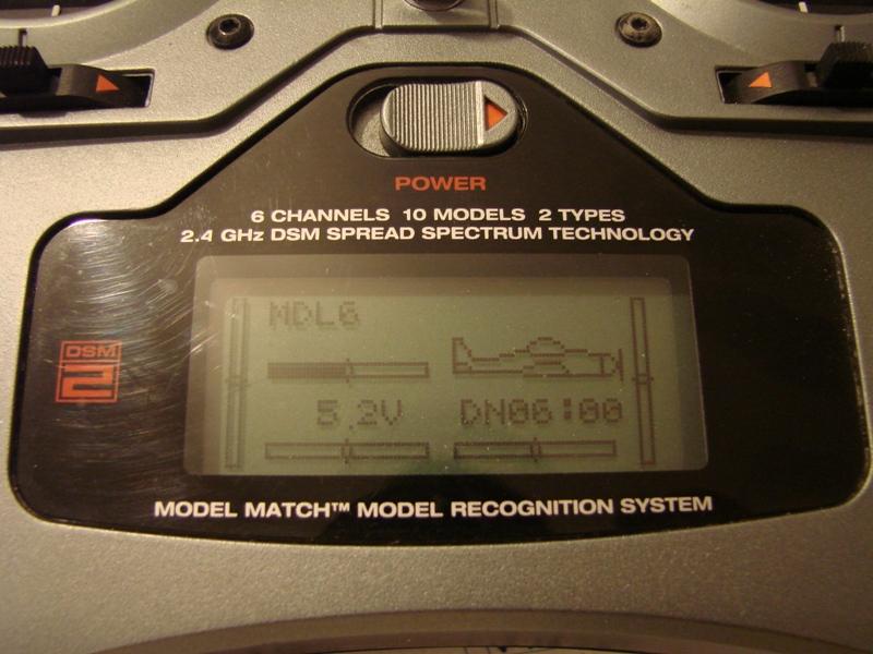 [Tuto] Radio Spectrum DX6i - Quelques astuces et reglages de base.  03