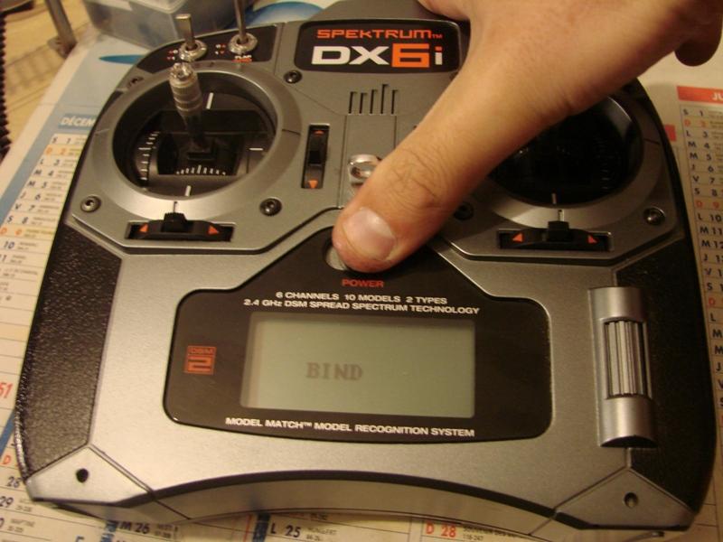 [Tuto] Radio Spectrum DX6i - Quelques astuces et reglages de base.  07