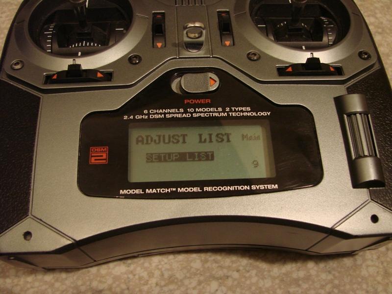 [Tuto] Radio Spectrum DX6i - Quelques astuces et reglages de base.  10