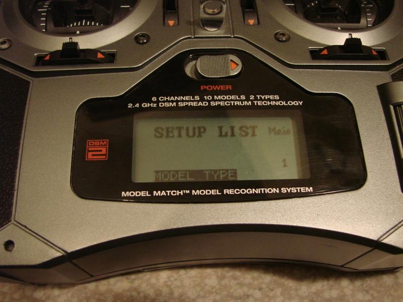 [Tuto] Radio Spectrum DX6i - Quelques astuces et reglages de base.  11