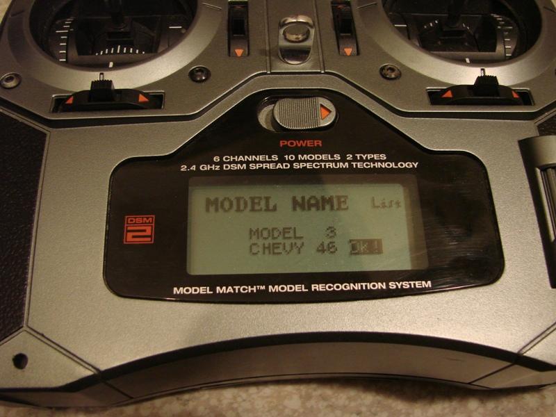[Tuto] Radio Spectrum DX6i - Quelques astuces et reglages de base.  13