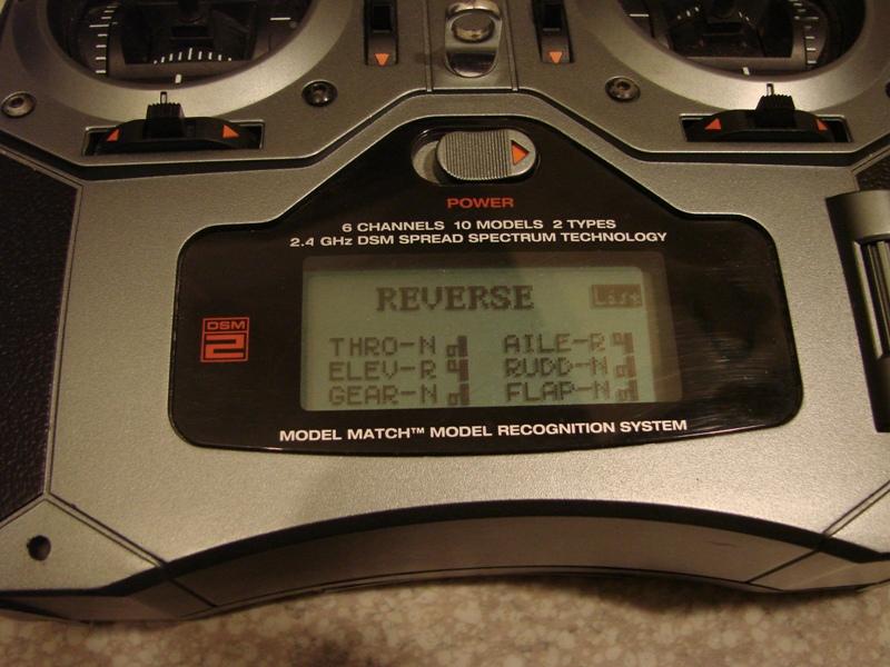 [Tuto] Radio Spectrum DX6i - Quelques astuces et reglages de base.  15