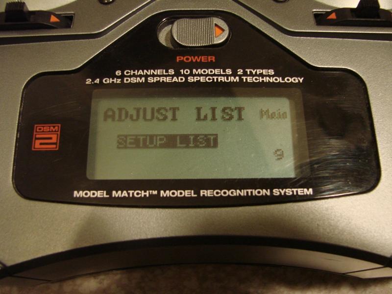 [Tuto] Radio Spectrum DX6i - Quelques astuces et reglages de base.  25