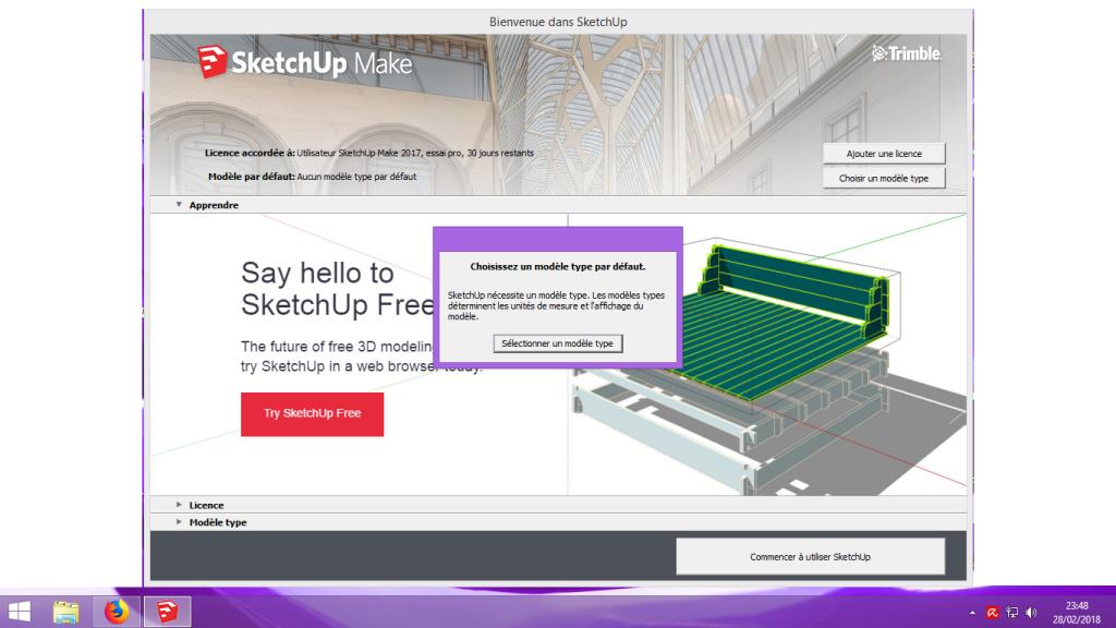 [Tuto] Modelisation 3D - Tuto 1 sur Sketchup - Installation, premier tracé, Calques et exportation STL. 006