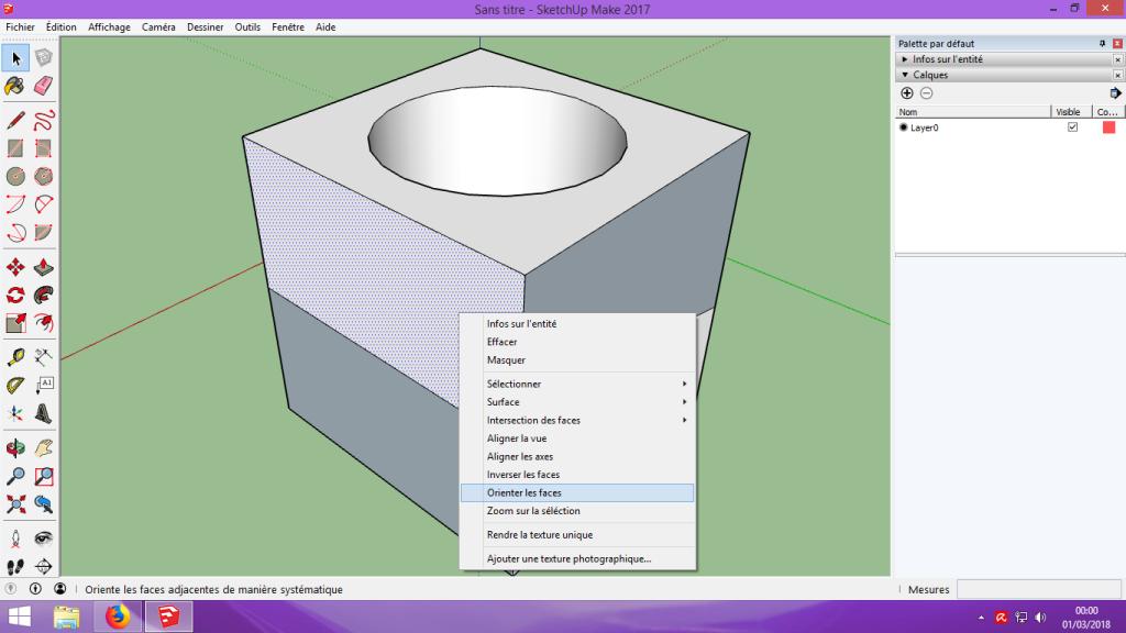 [Tuto] Modelisation 3D - Tuto 1 sur Sketchup - Installation, premier tracé, Calques et exportation STL. 044