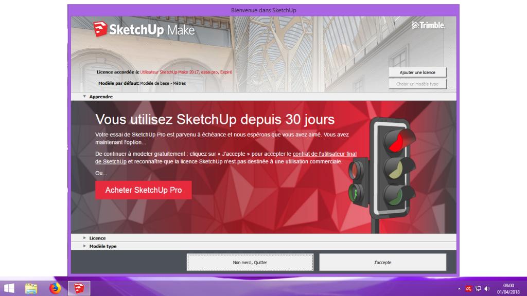 [Tuto] Modelisation 3D - Tuto 1 sur Sketchup - Installation, premier tracé, Calques et exportation STL. 100