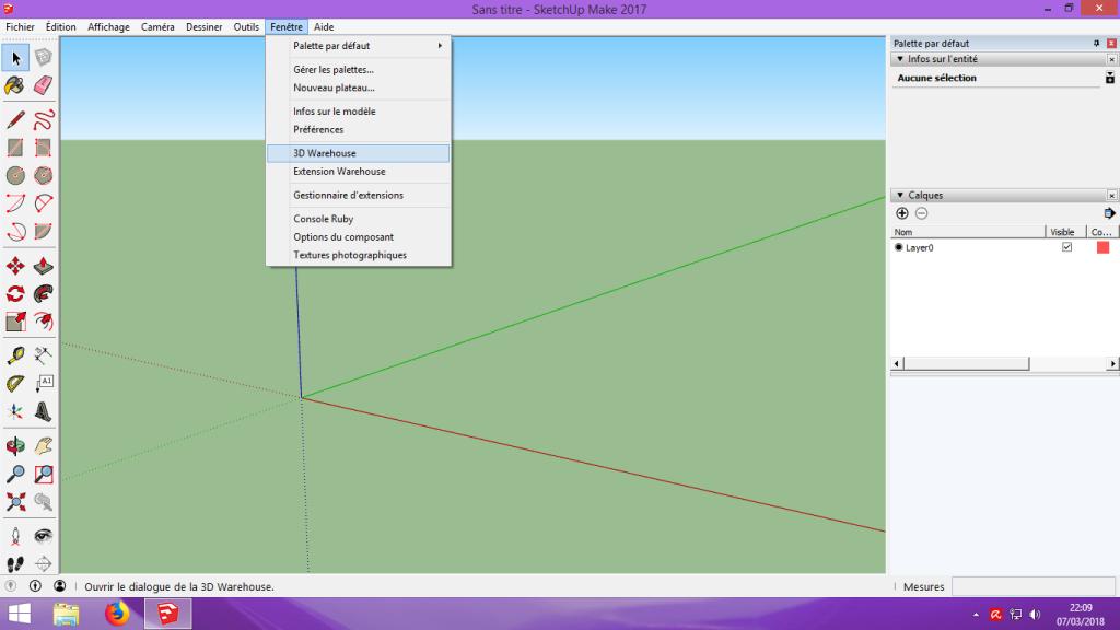 [Tuto] Modelisation 3D - Tuto 2 sur Sketchup - Importation, faire des groupes, modification de pieces. 104