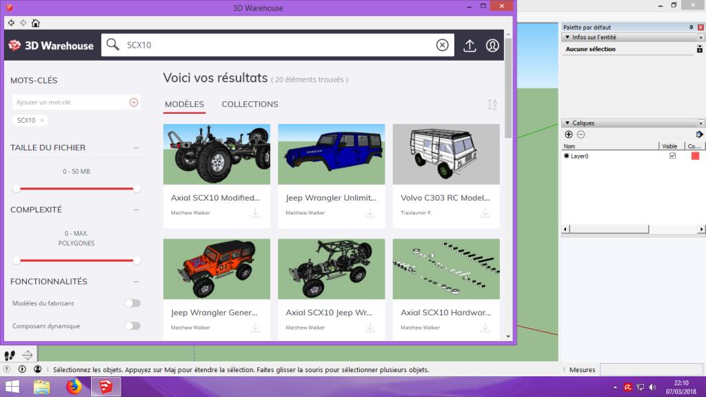 [Tuto] Modelisation 3D - Tuto 2 sur Sketchup - Importation, faire des groupes, modification de pieces. 107