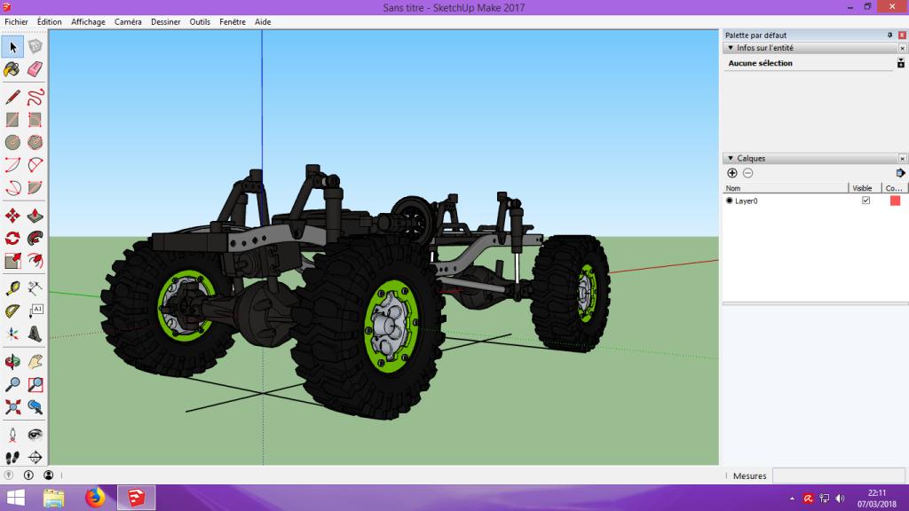[Tuto] Modelisation 3D - Tuto 2 sur Sketchup - Importation, faire des groupes, modification de pieces. 114