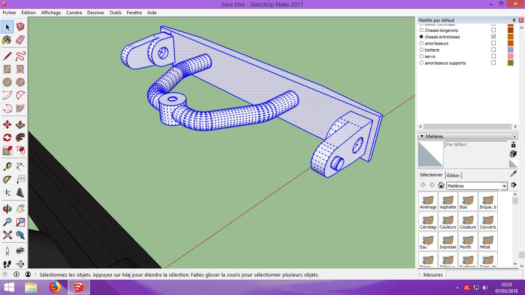 [Tuto] Modelisation 3D - Tuto 2 sur Sketchup - Importation, faire des groupes, modification de pieces. 157