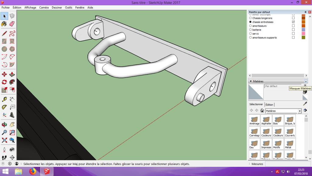 [Tuto] Modelisation 3D - Tuto 2 sur Sketchup - Importation, faire des groupes, modification de pieces. 158