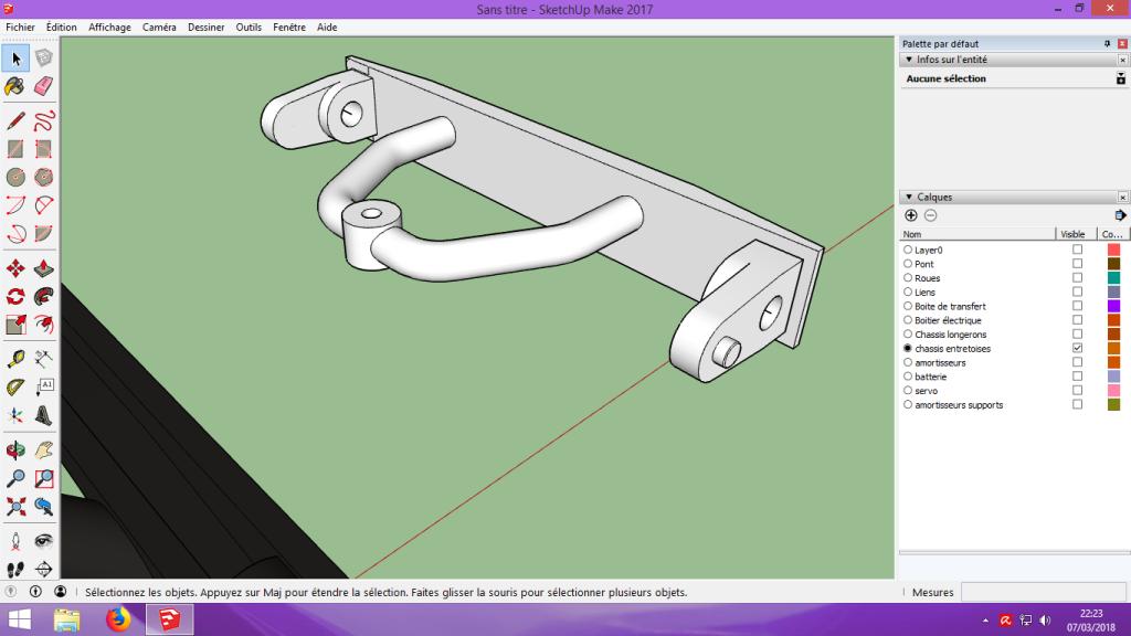 [Tuto] Modelisation 3D - Tuto 2 sur Sketchup - Importation, faire des groupes, modification de pieces. 159