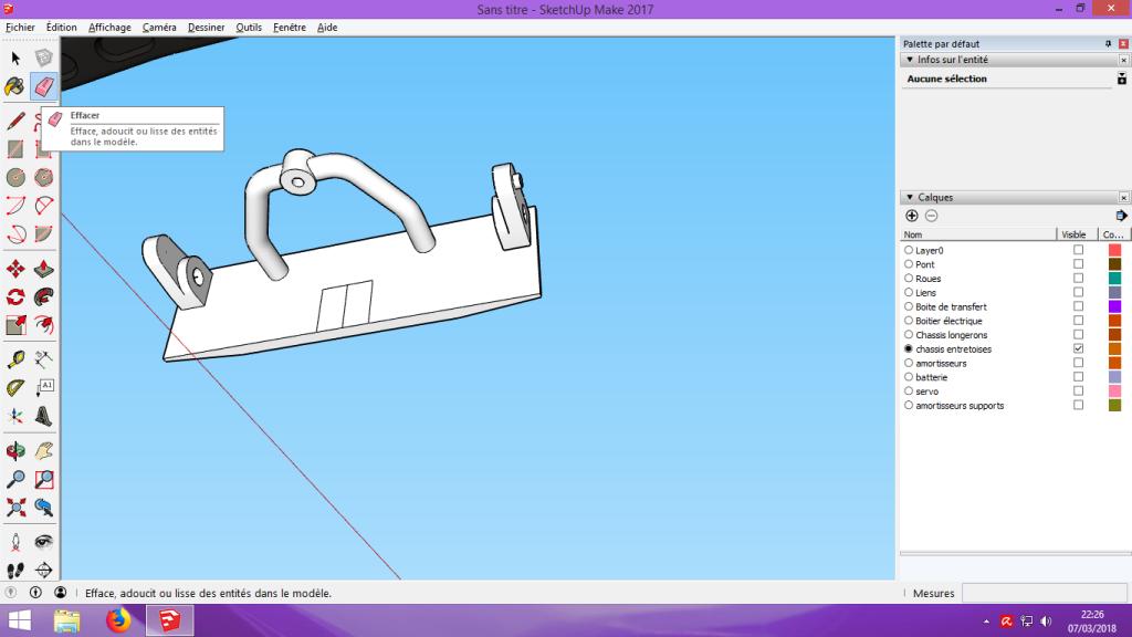 [Tuto] Modelisation 3D - Tuto 2 sur Sketchup - Importation, faire des groupes, modification de pieces. 164