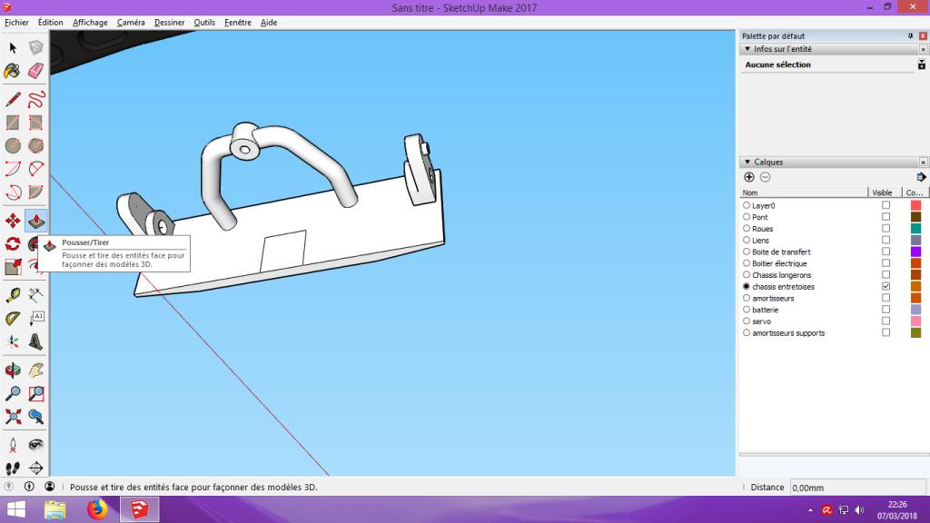[Tuto] Modelisation 3D - Tuto 2 sur Sketchup - Importation, faire des groupes, modification de pieces. 165