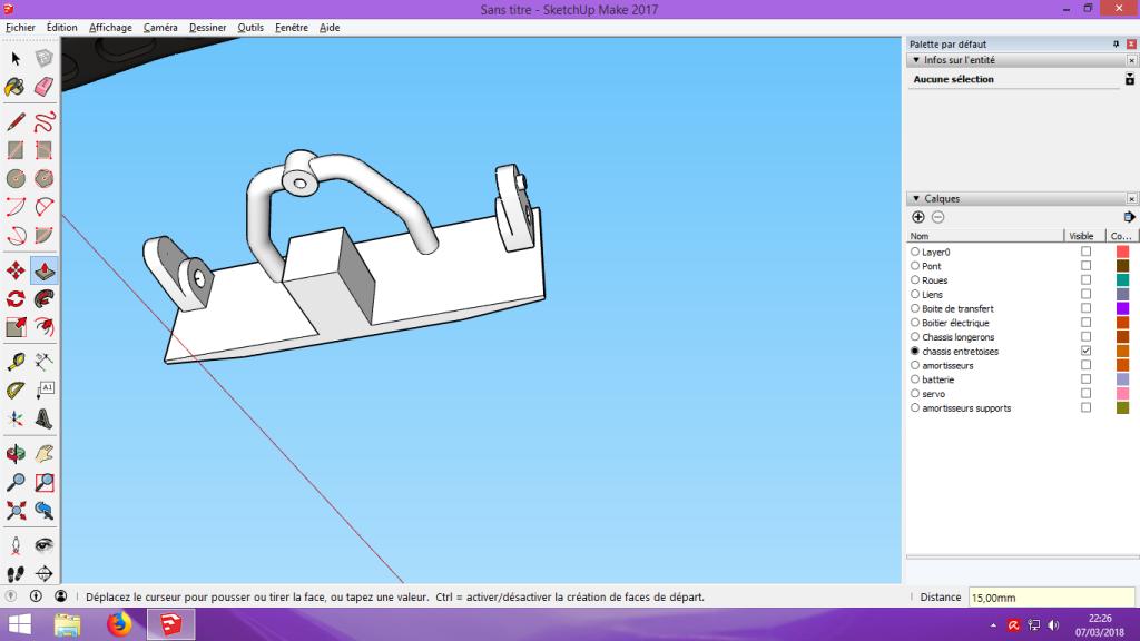 [Tuto] Modelisation 3D - Tuto 2 sur Sketchup - Importation, faire des groupes, modification de pieces. 166