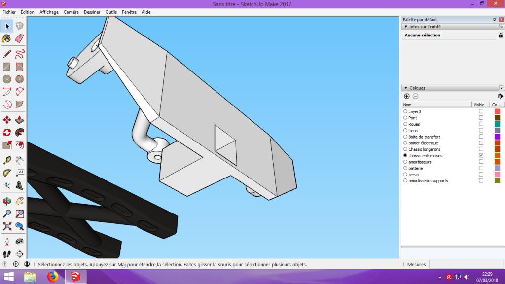 [Tuto] Modelisation 3D - Tuto 2 sur Sketchup - Importation, faire des groupes, modification de pieces. 178