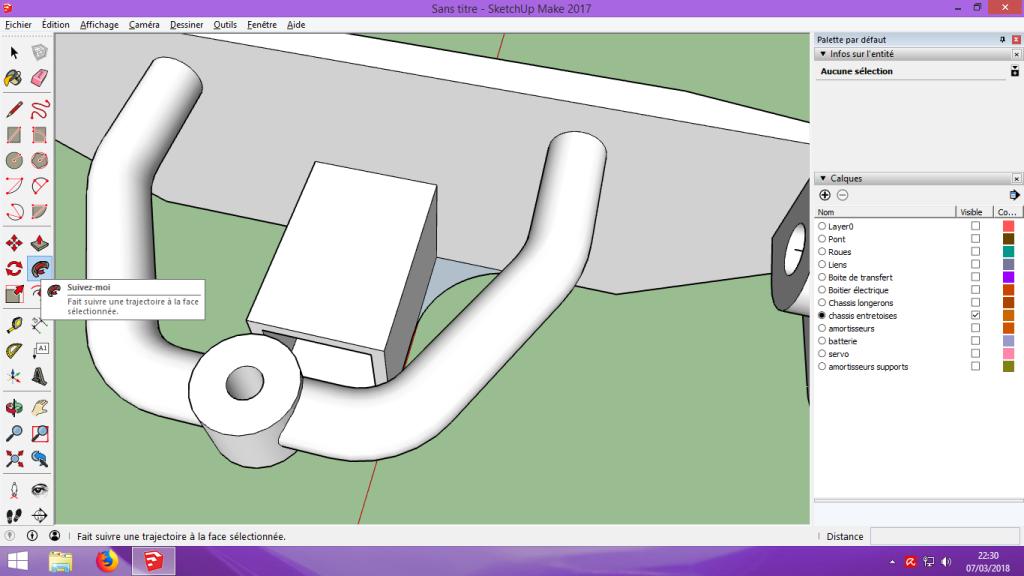 [Tuto] Modelisation 3D - Tuto 2 sur Sketchup - Importation, faire des groupes, modification de pieces. 180