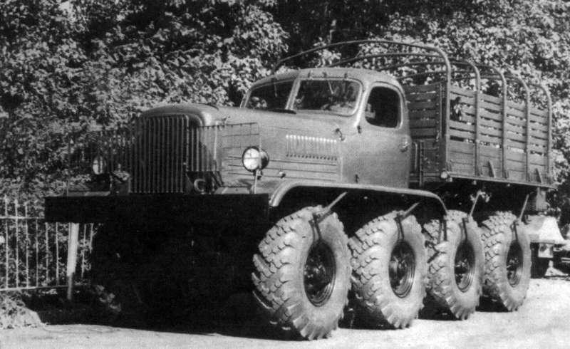 [Venom Creeper/Axial SCX10] ZIS E134 1955 - 8x8 ou 12x12 avec la remorque 002