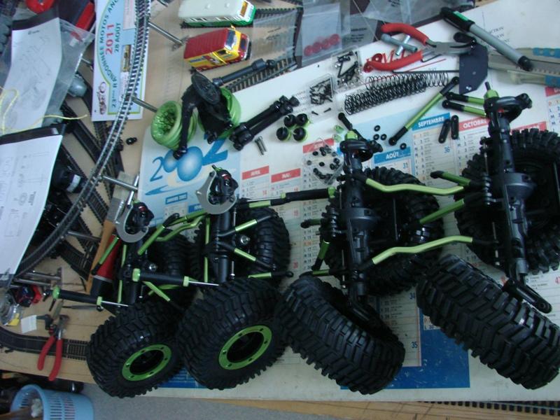 [Venom Creeper/Axial SCX10] ZIS E134 1955 - 8x8 ou 12x12 avec la remorque 032
