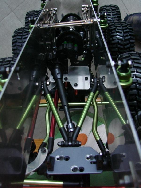 [Venom Creeper/Axial SCX10] ZIS E134 1955 - 8x8 ou 12x12 avec la remorque 089