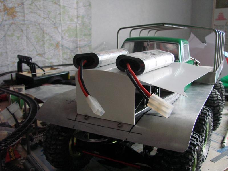 [Venom Creeper/Axial SCX10] ZIS E134 1955 - 8x8 ou 12x12 avec la remorque 170