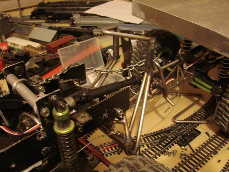 [Venom Creeper/Axial SCX10] ZIS E134 1955 - 8x8 ou 12x12 avec la remorque 227