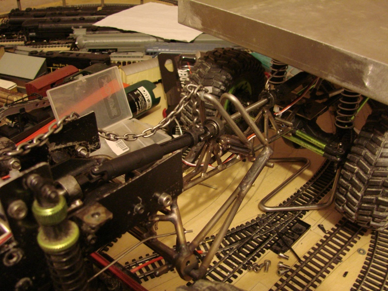 [Venom Creeper/Axial SCX10] ZIS E134 1955 - 8x8 ou 12x12 avec la remorque 232