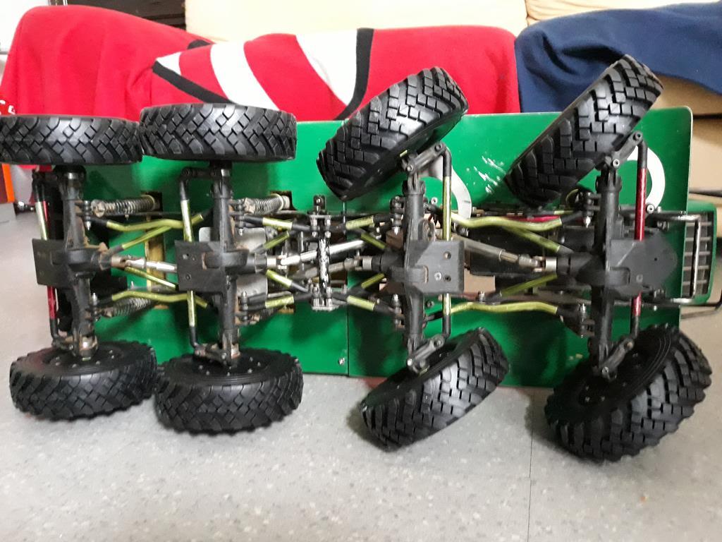 [Venom Creeper/Axial SCX10] ZIS E134 1955 - 8x8 ou 12x12 avec la remorque 259